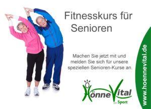 Seniorengymnastik im HönneVital - Balve