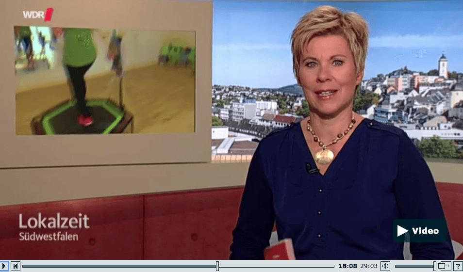 HönneVital Lokalzeit WDR Jumping Fitness