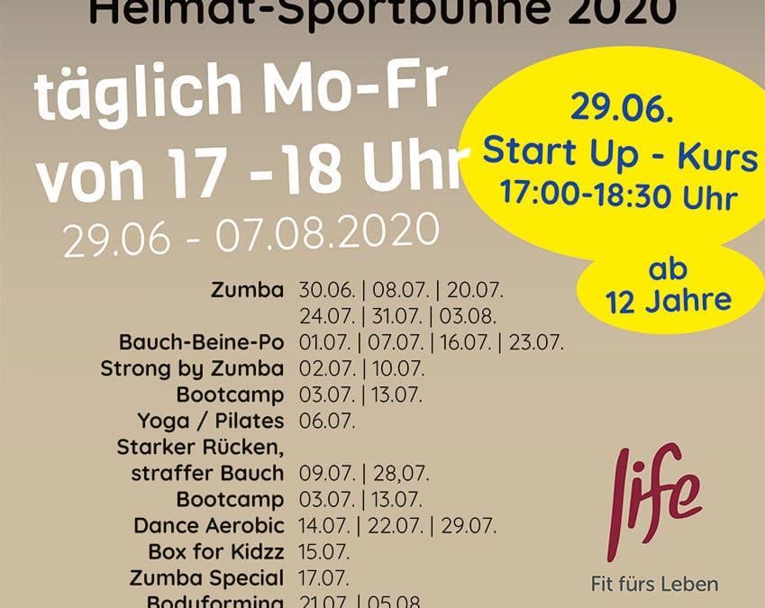 HEIMATSOMMER 2020 – täglich Kurse an der Realschule in Balve