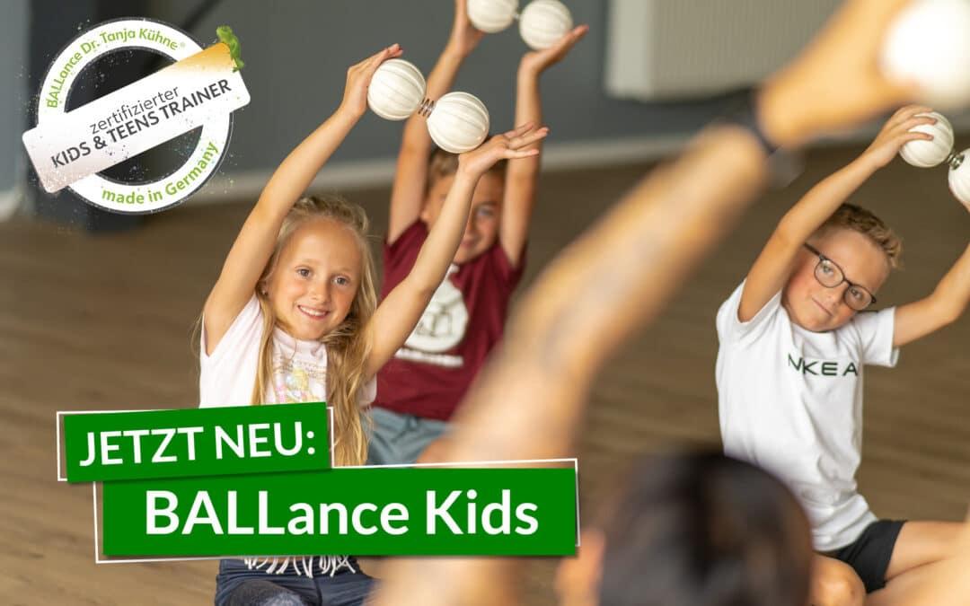 Kinderkurs: BALLance Kids ab dem 21. September